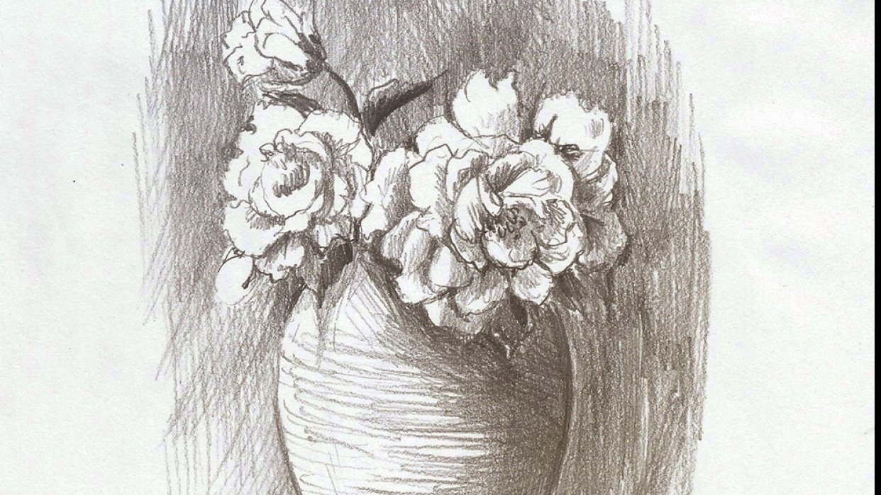 Pencil sketch - student project