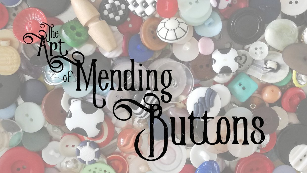 The Beginners Guide to the Art of Mending Series - student project