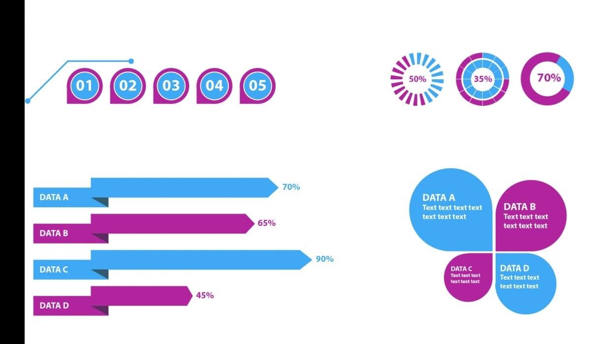 Illustrator: Design Infographic Elements - student project
