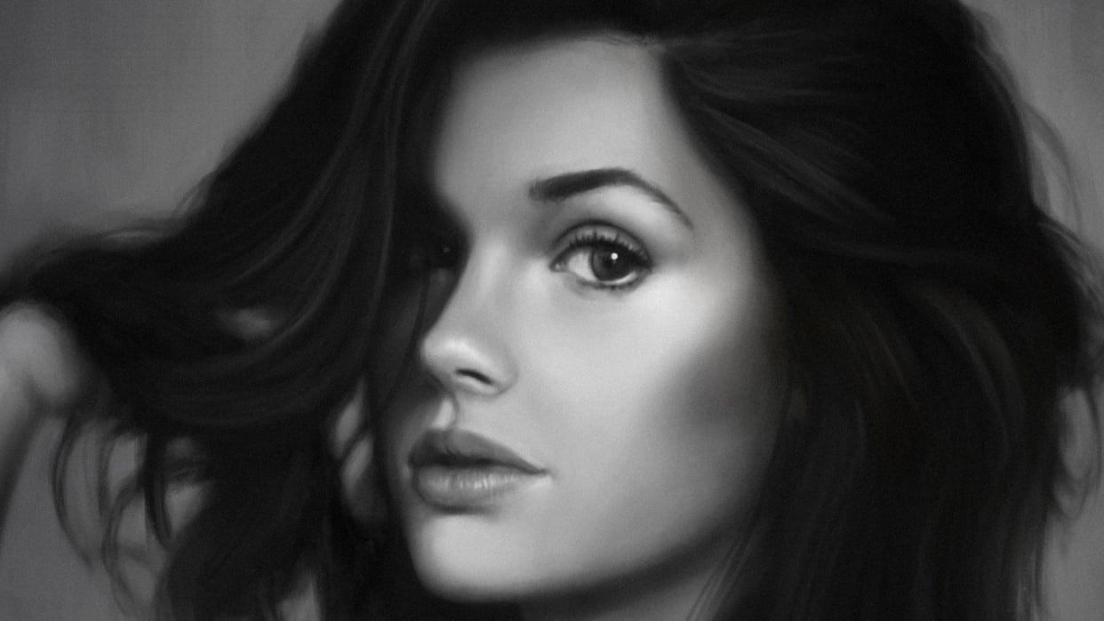 Digital Portrait Painting - student project