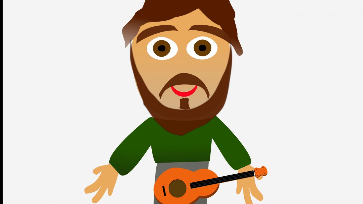 Me 'n' my ukulele - student project