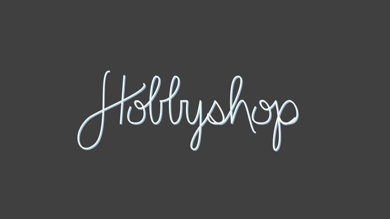 Hobbyshop - student project