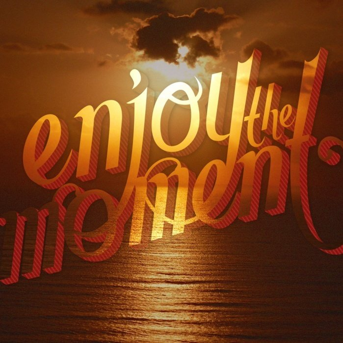 Enjoy the Moment - student project