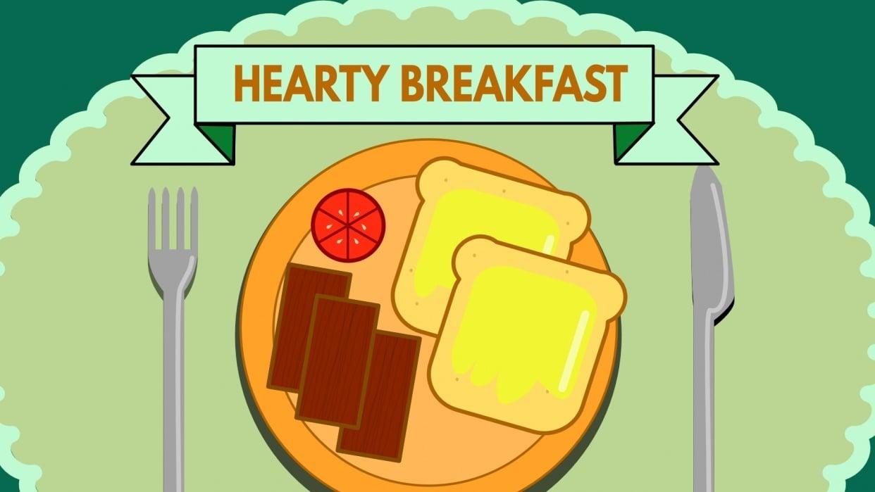 Hearty Breakfast - student project