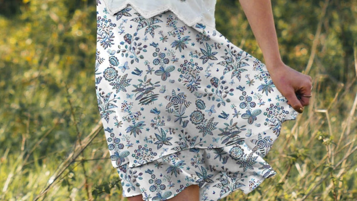 Skirt Pattern Design Contest - student project