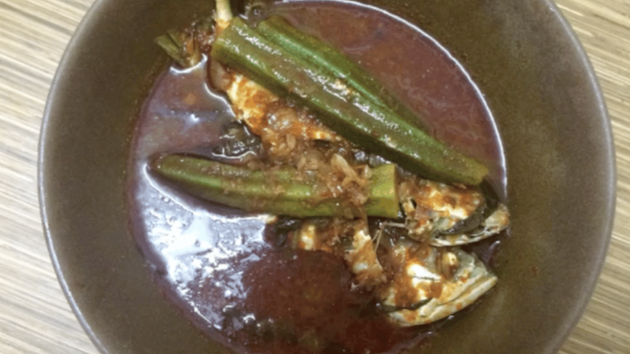 Traditional Malay Sour Spicy Fish - student project