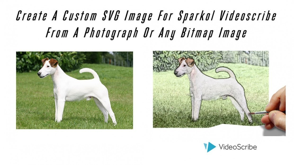 Create A Custom SVG Image For Sparkol Videoscribe From A Photograph Or Any Bitmap Image - student project