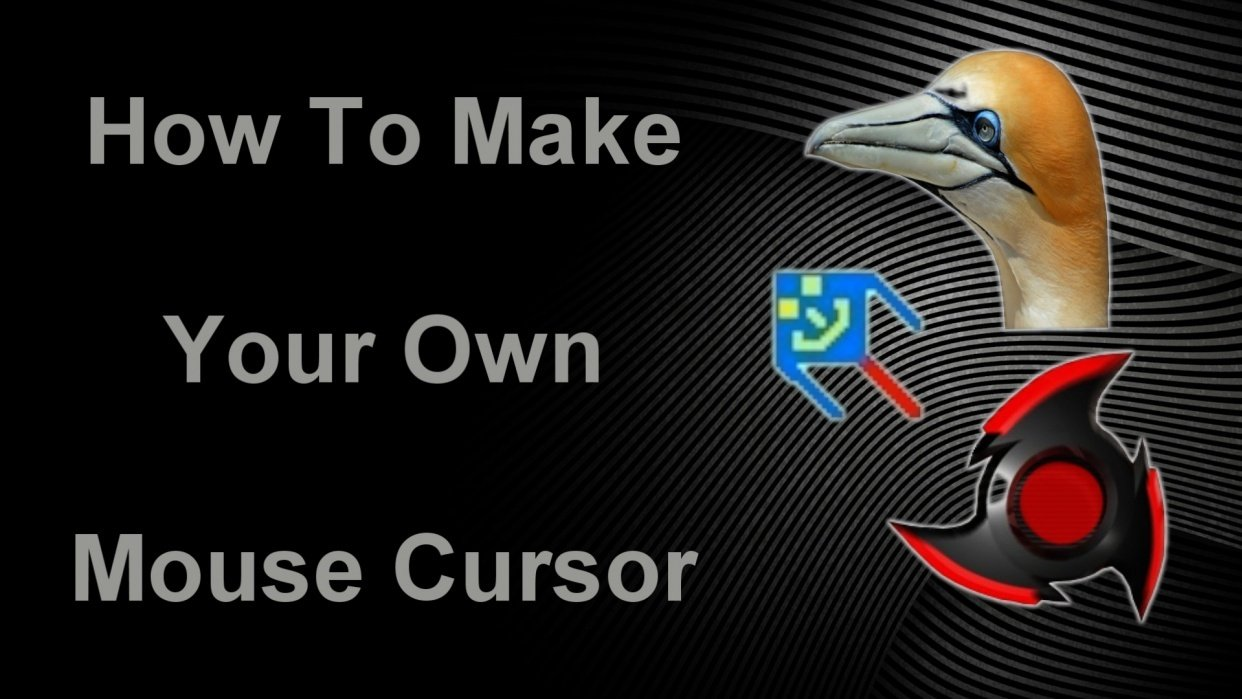 How To Make Your Own Mouse Cursor - student project