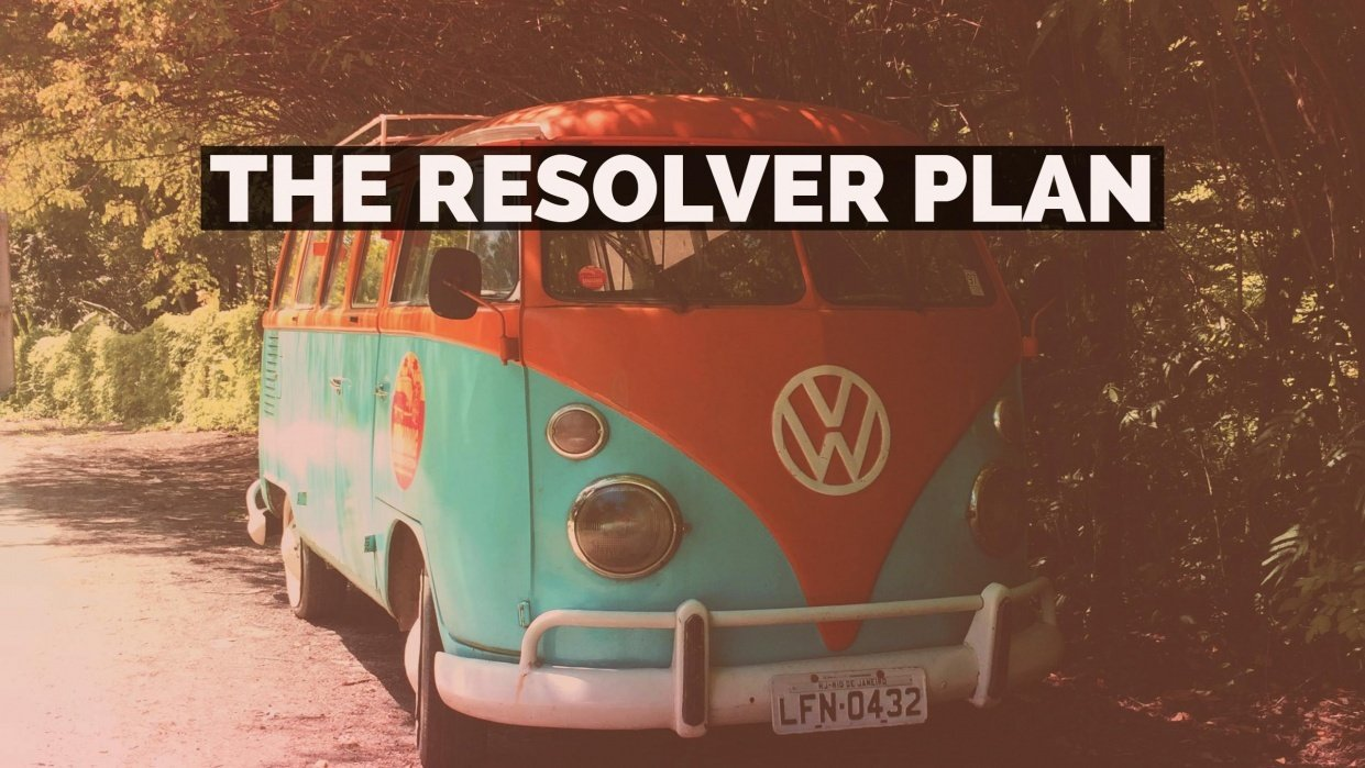 The Resolver Plan - student project
