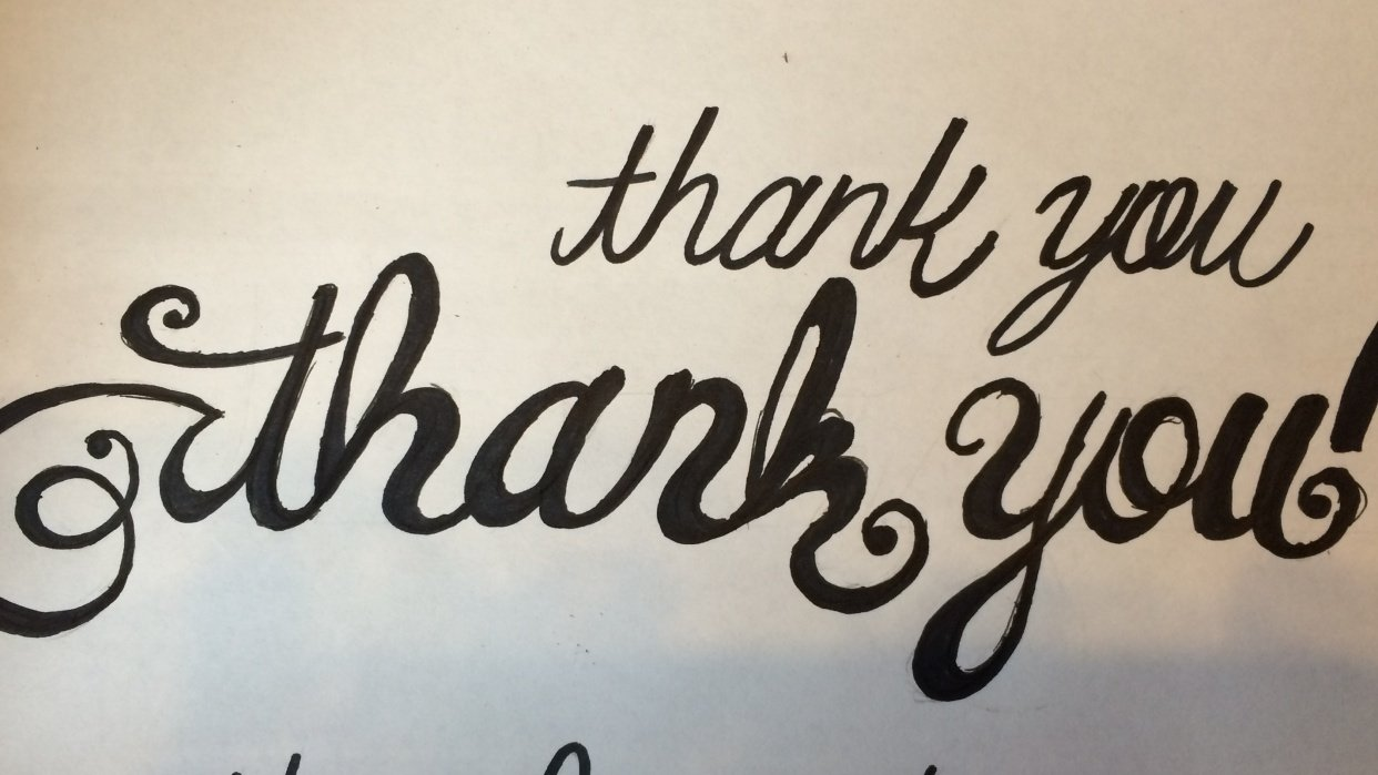 Thank you! - student project