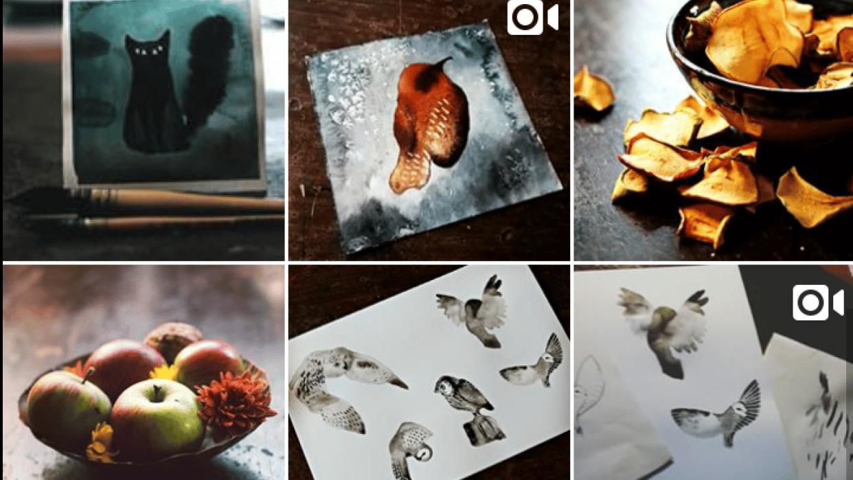 Instagram remake - student project