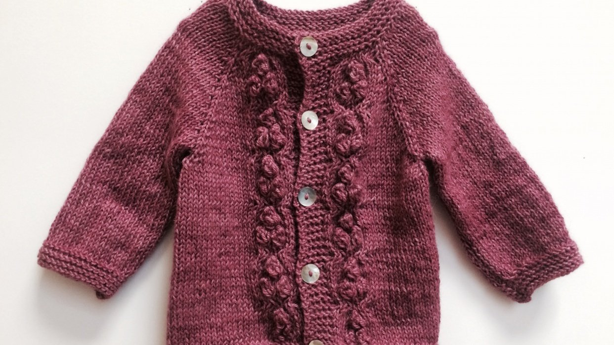 Baby Sweater - student project