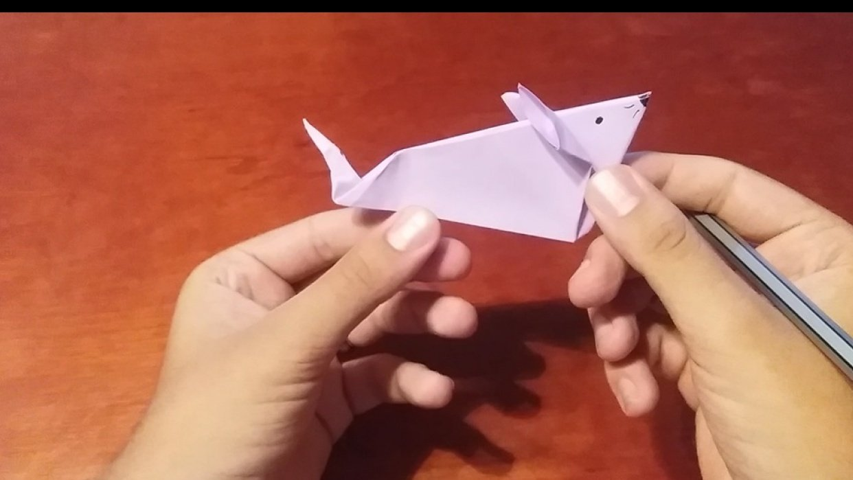Mouse Origami - student project