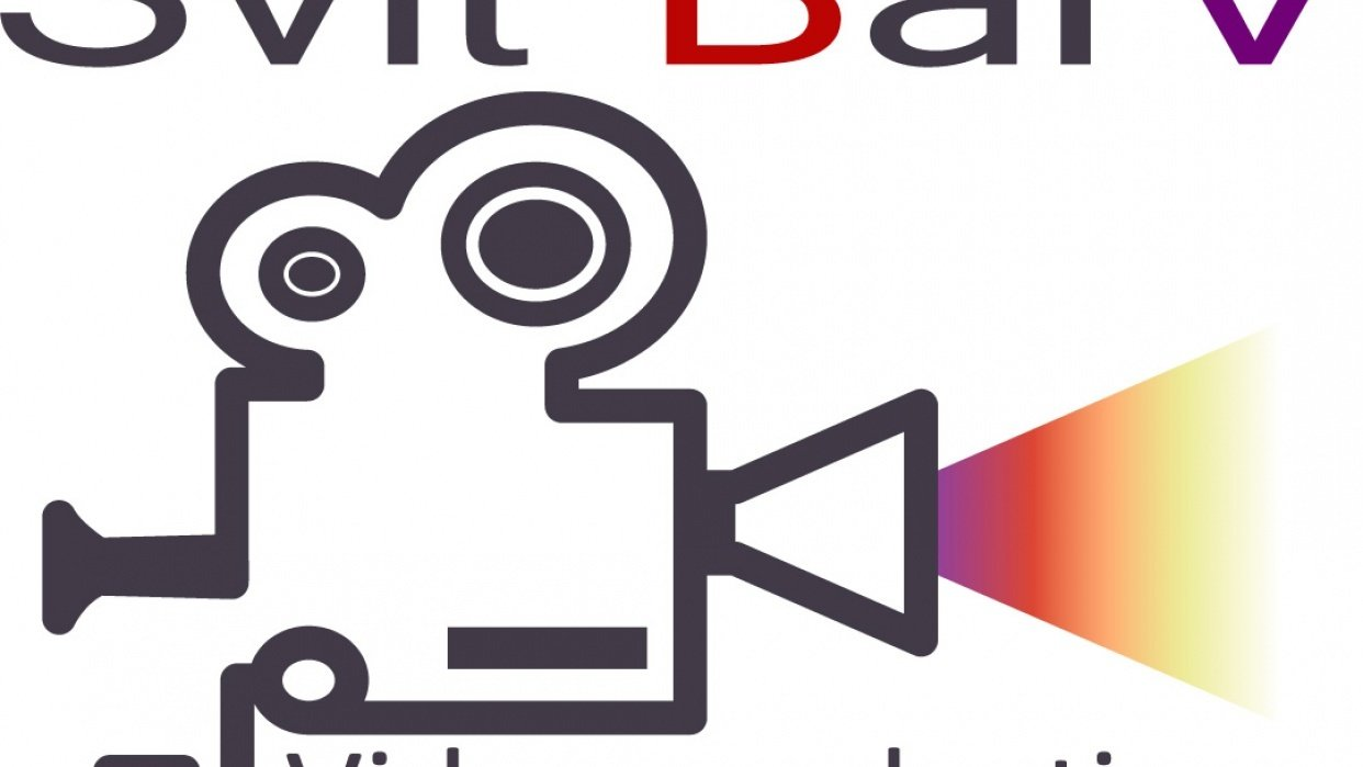 """Logo for """"Svit BarV"""" (video production) - student project"""