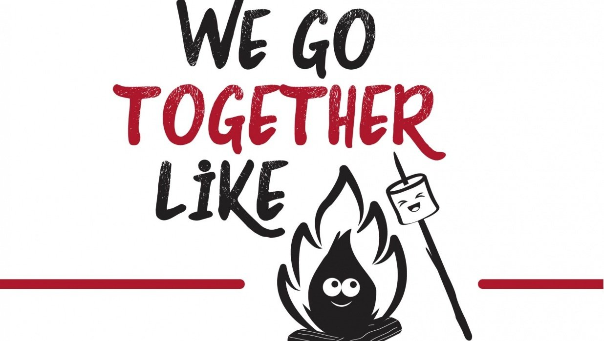 We go together like campfires and marshmallows. - student project