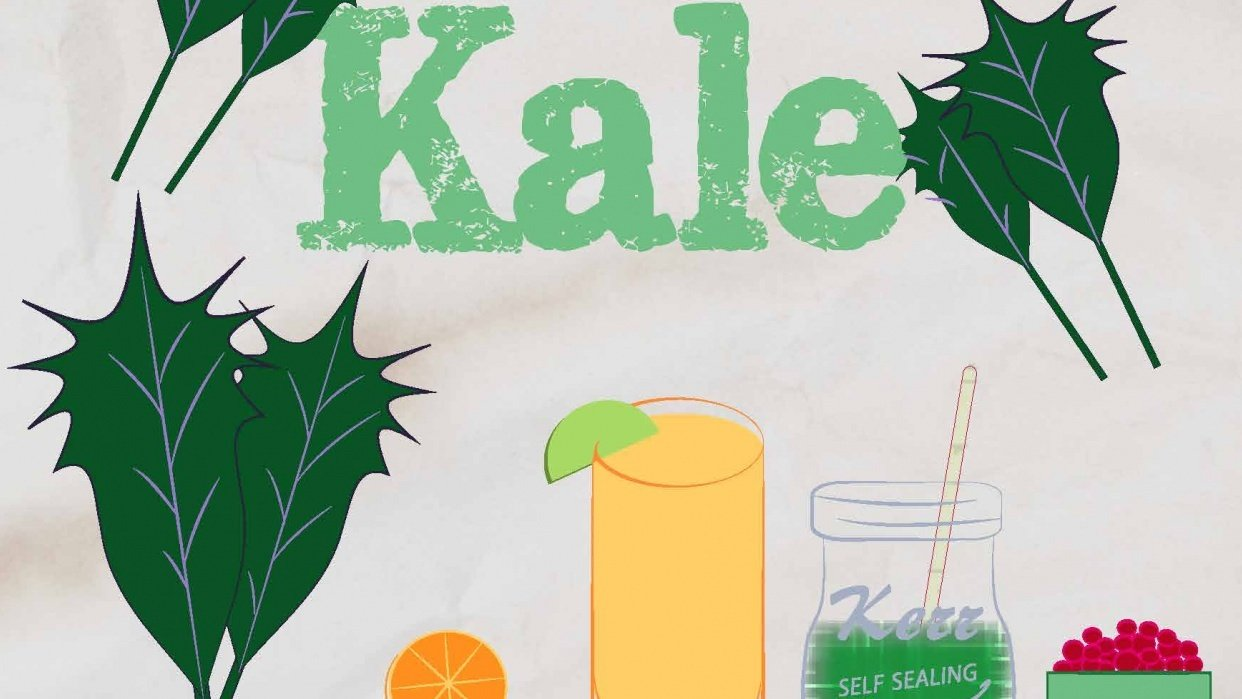 """""""oh Kale, YEAH!' - student project"""