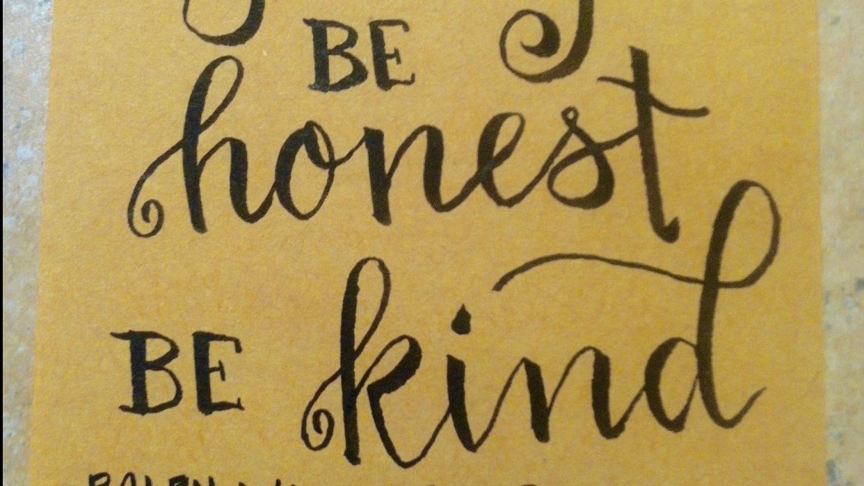 Post-It Quote - student project