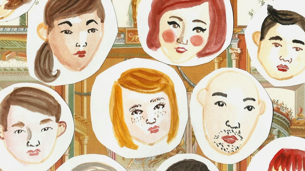 Little faces - student project