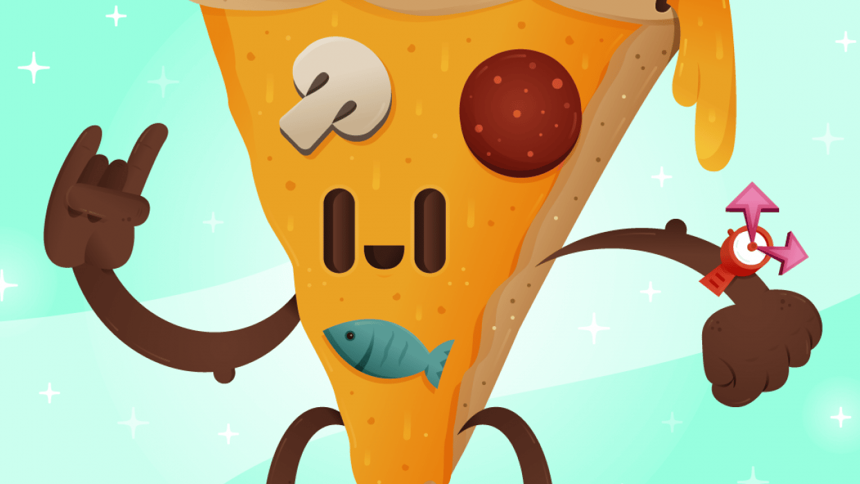 Pizza Time YEAH! - student project