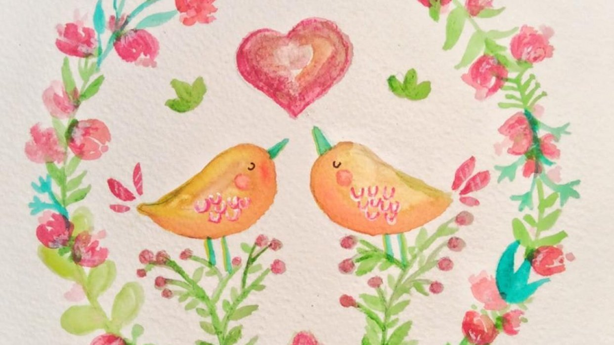 happy birds, happy day - student project