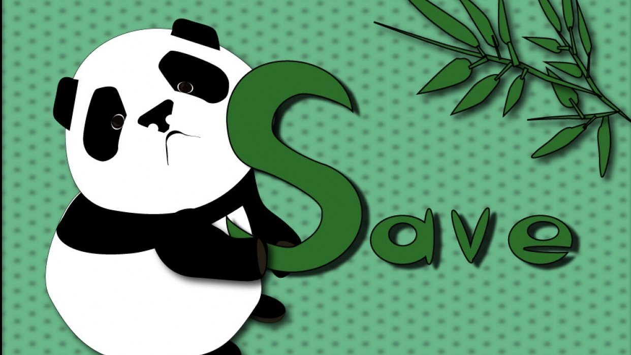 Panda''s poster - student project