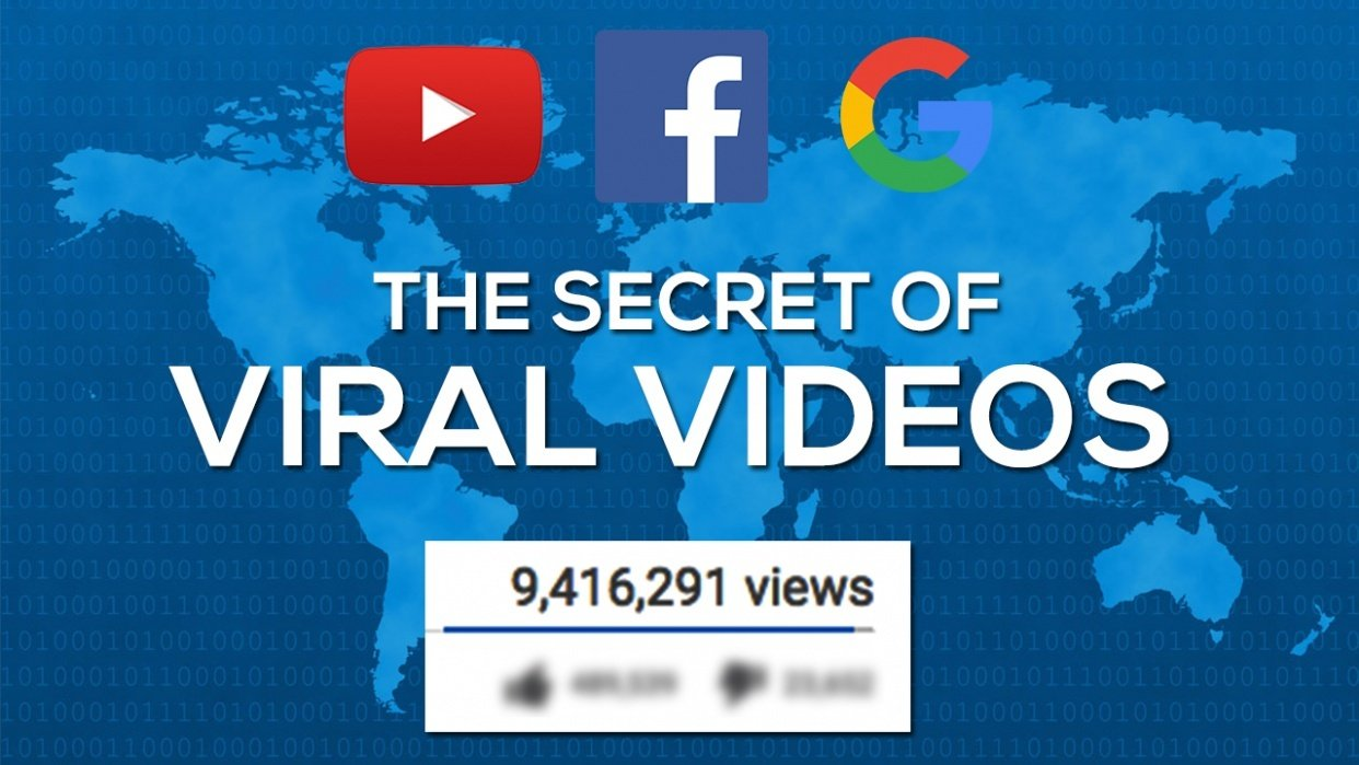 Learn the Secret of Viral Videos - student project