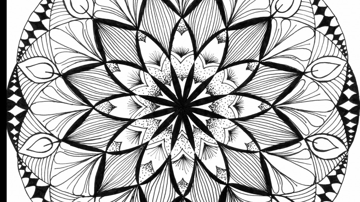 Shape Drawings and Mandala - student project