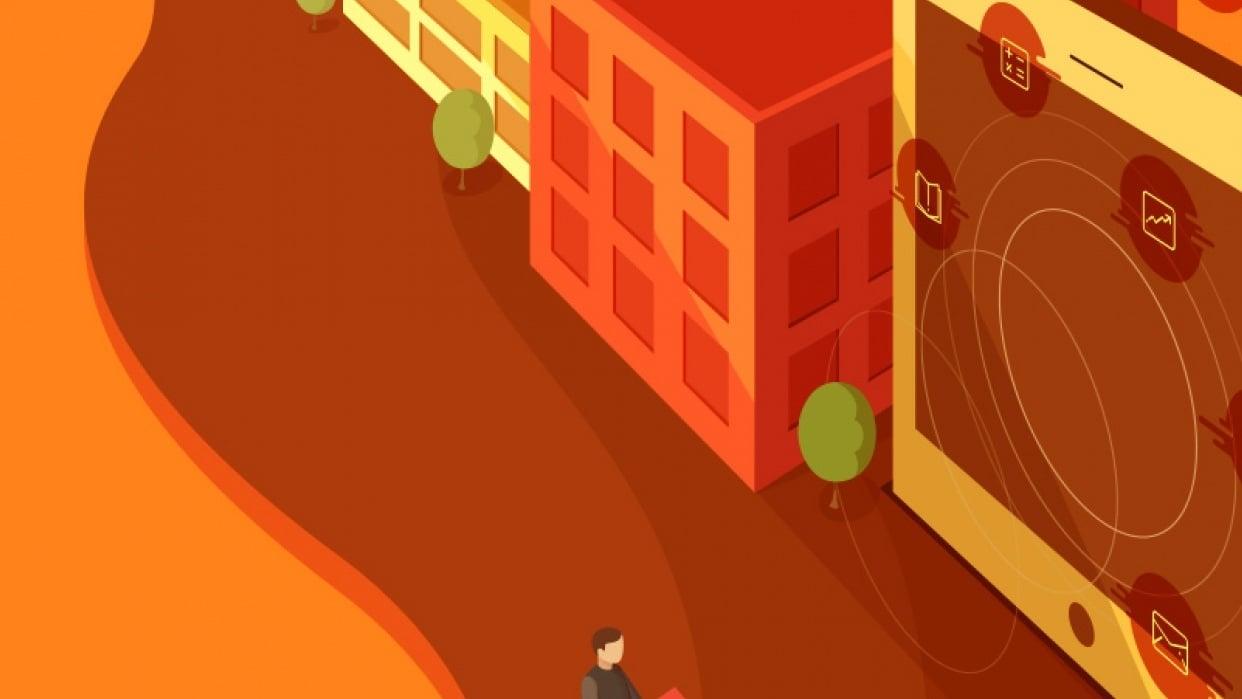 Mastering Adobe Illustrators Perspective Grid Tool - student project
