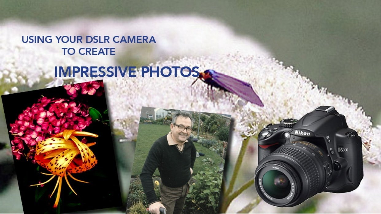Using Your DSLR Camera to Create Impressive Photos - student project