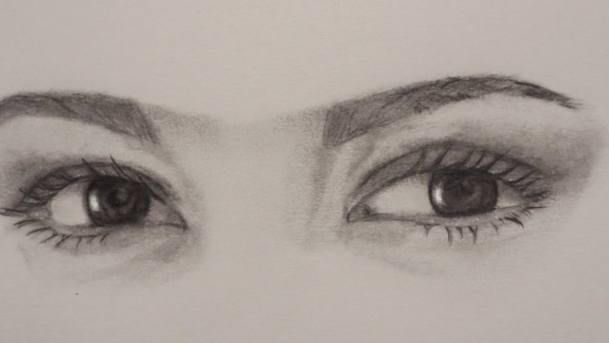 Realistic Eyes Project - student project