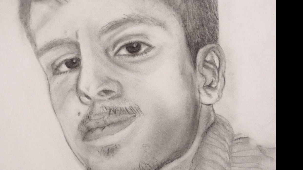 Pencil Portrait - student project