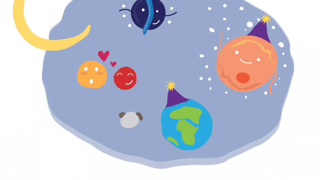 I Sea You! / Planet Party! - student project