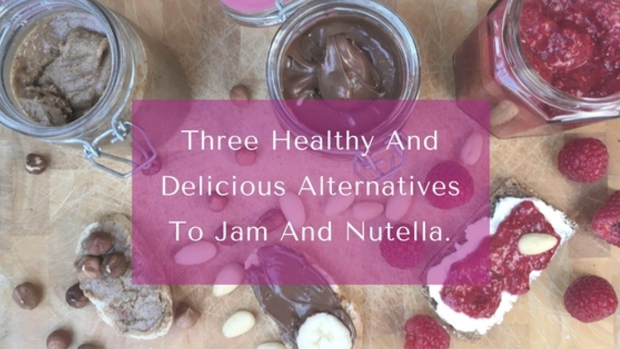 Three healthy homemade alternatives to nutella and jam - photo session - student project