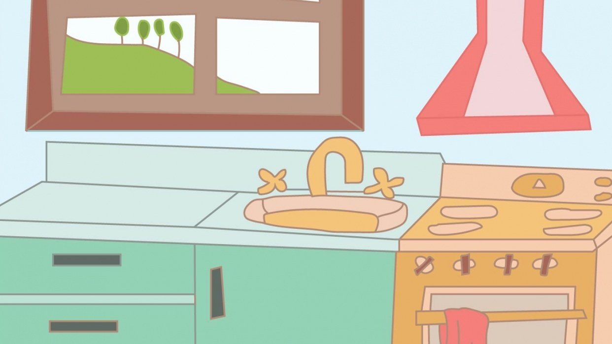 Doty's Kitchen - student project