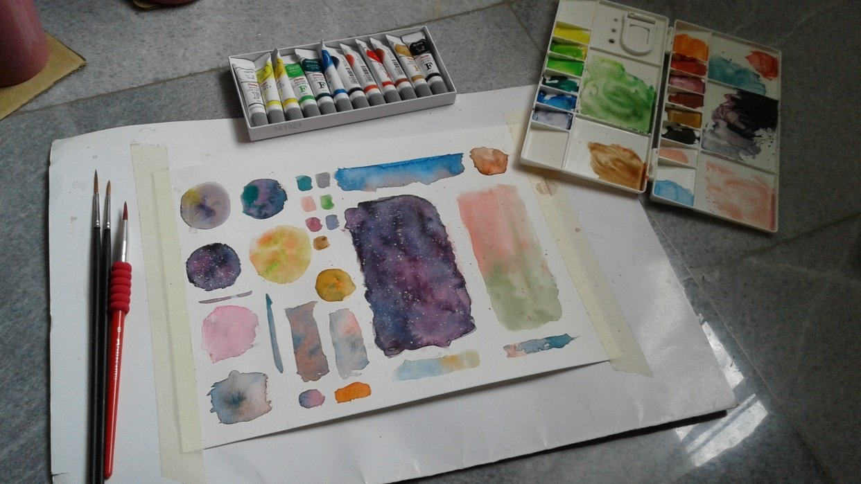 My Color Wheel, Mixing - student project
