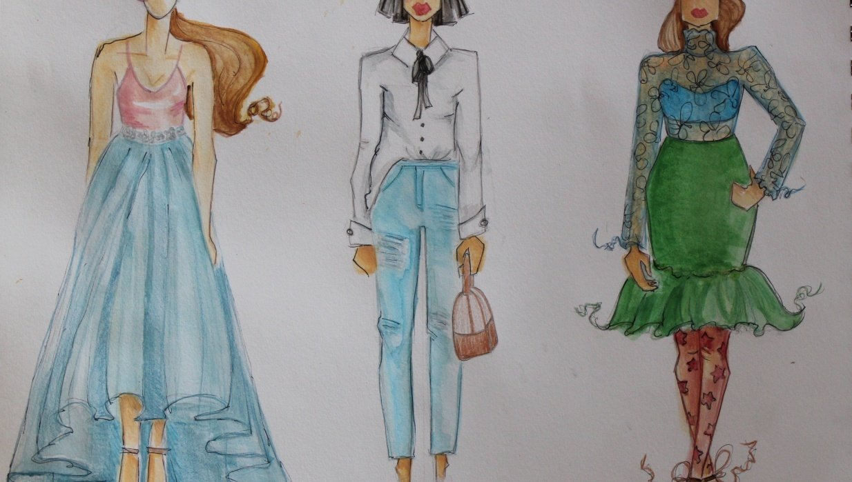 The First Steps of Fashion Design Project - student project