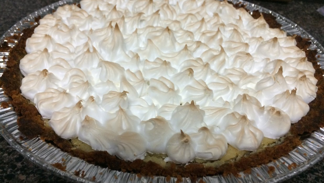 my lemon meringue pie - student project