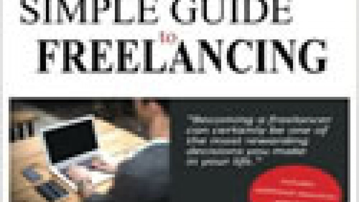 Simple Guide to Freelancing ebook published - student project