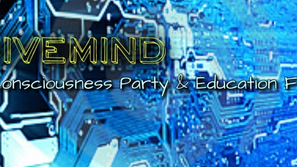 HiveMind: Consciousness Party and Education Forum - student project