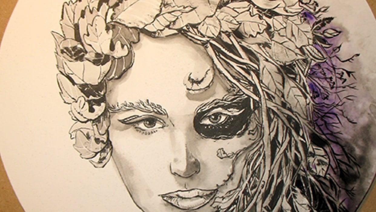 Slauz - Lady Autumn - student project