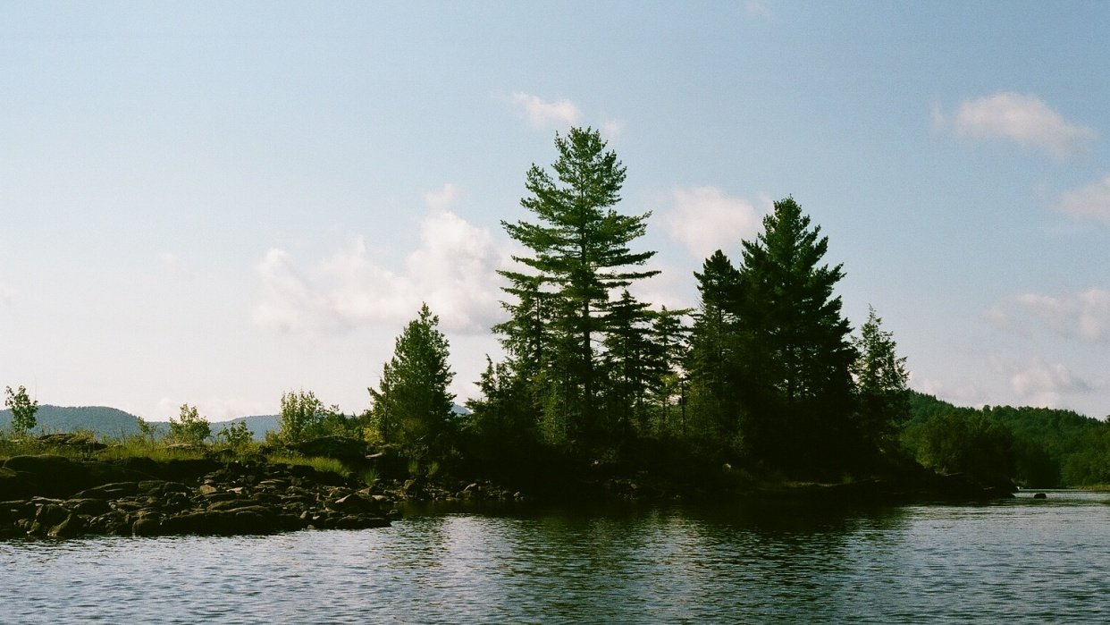 End of summer vacation in the Adirondacks - student project