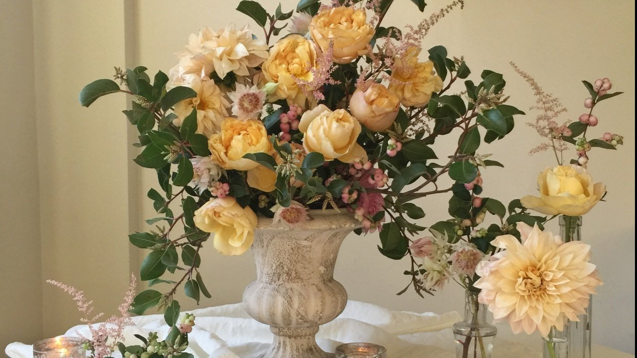 Flower Market Finds - student project