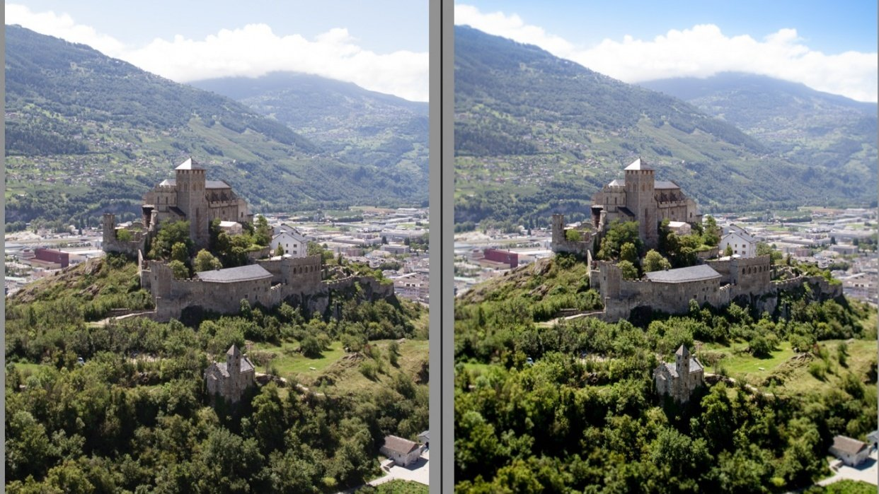 Sion, Switzerland - student project
