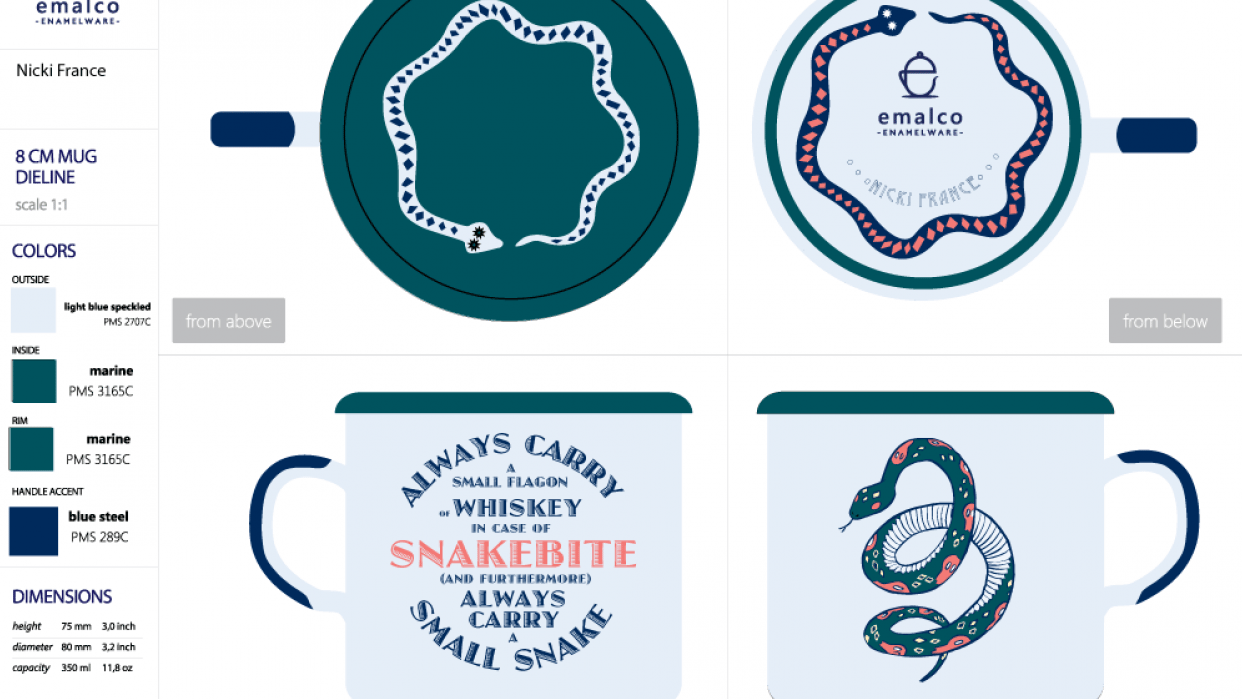 In Case of Snakebite/ Wander & Wonder - student project