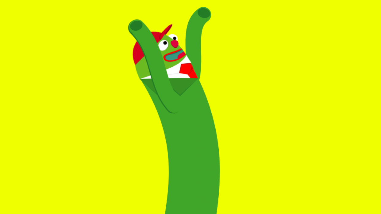Wacky Waving Inflatable Arm Flailing Tube Man  - student project