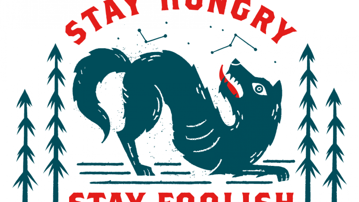 Stay Hungry, Stay Foolish - student project