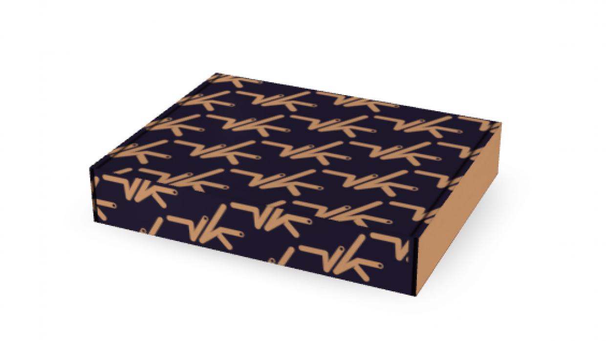 VK Mailer Box Design - student project