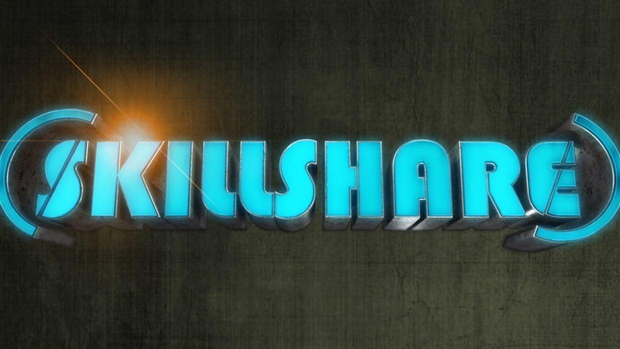Skillshare Logo - student project