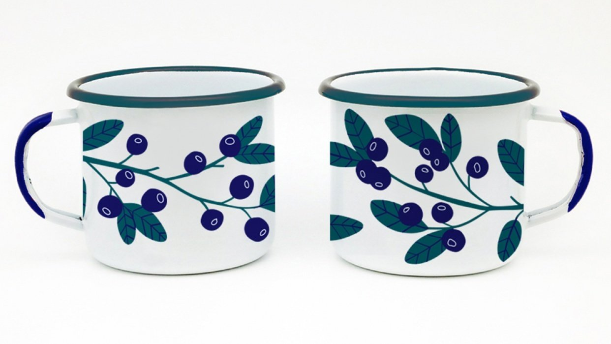 Retro flowers - student project