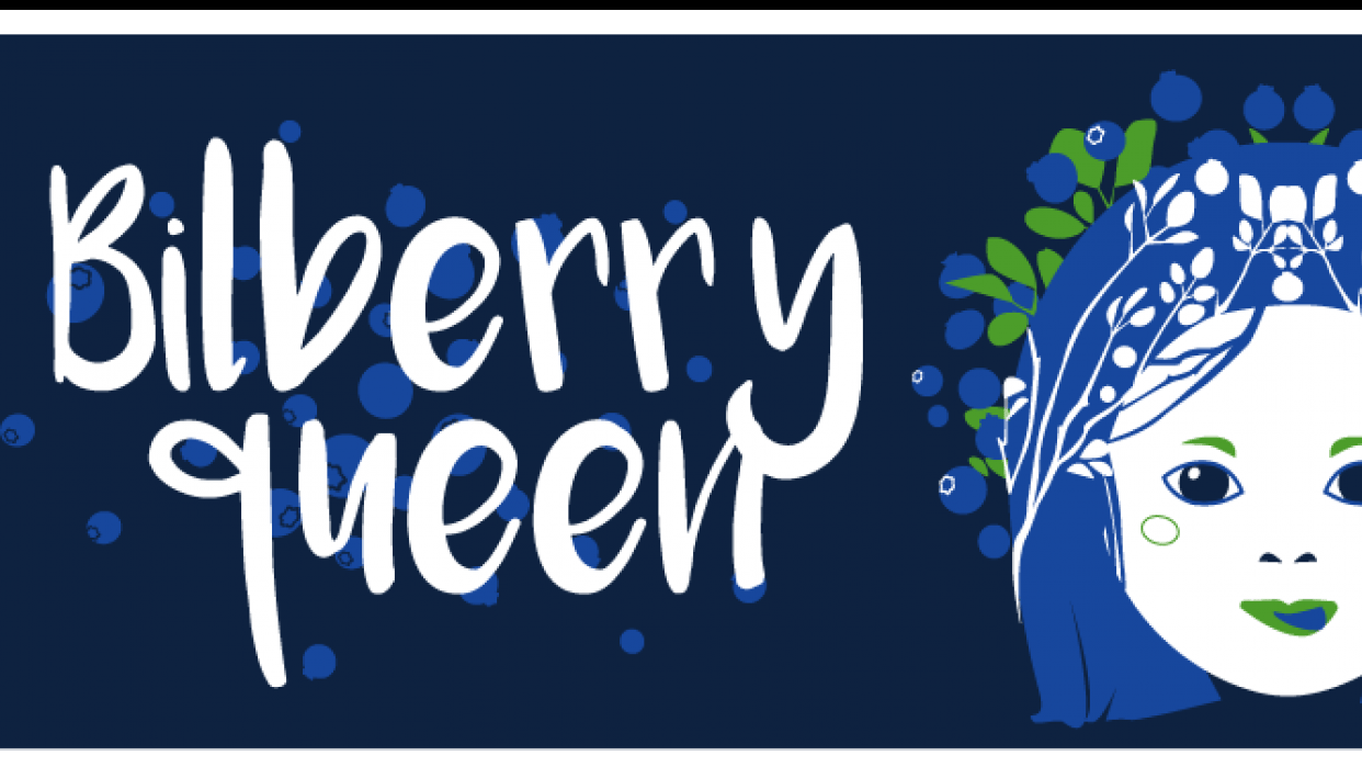 Bilberry queen - student project